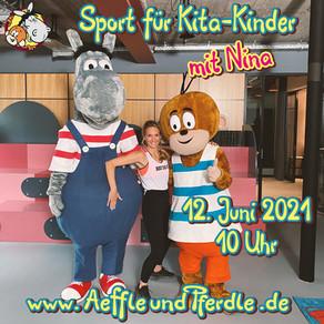 """Videopremiere """"Sport für Kita-Kinder"""""""