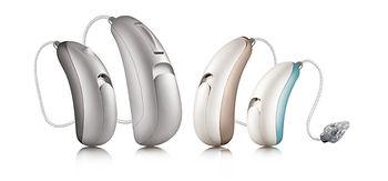 RIC hearing aids BTE receiver speaker