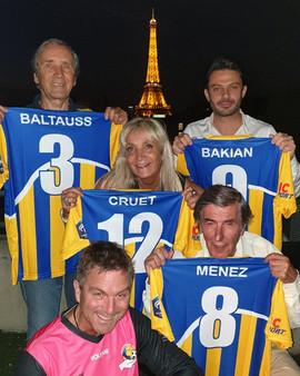 Le Bureau, nouveaux Maillots Tour Eiffel