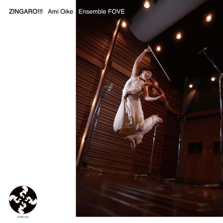 """Ami Oike, Ensemble FOVE """"ZINGARO!!!"""""""