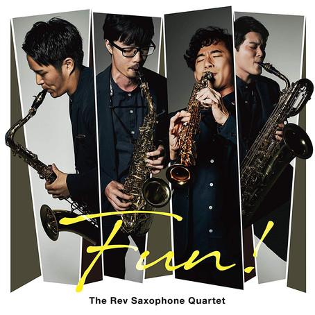 The Rev Saxophone Quartet : Fun! (2018)