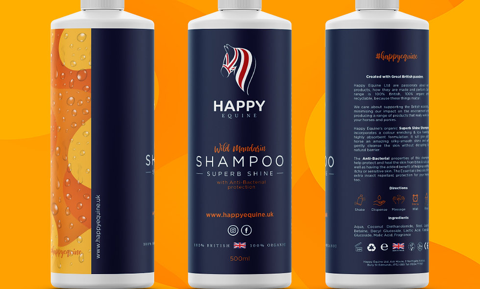 Superb Shine Shampoo - Wild Mandarin 500ml