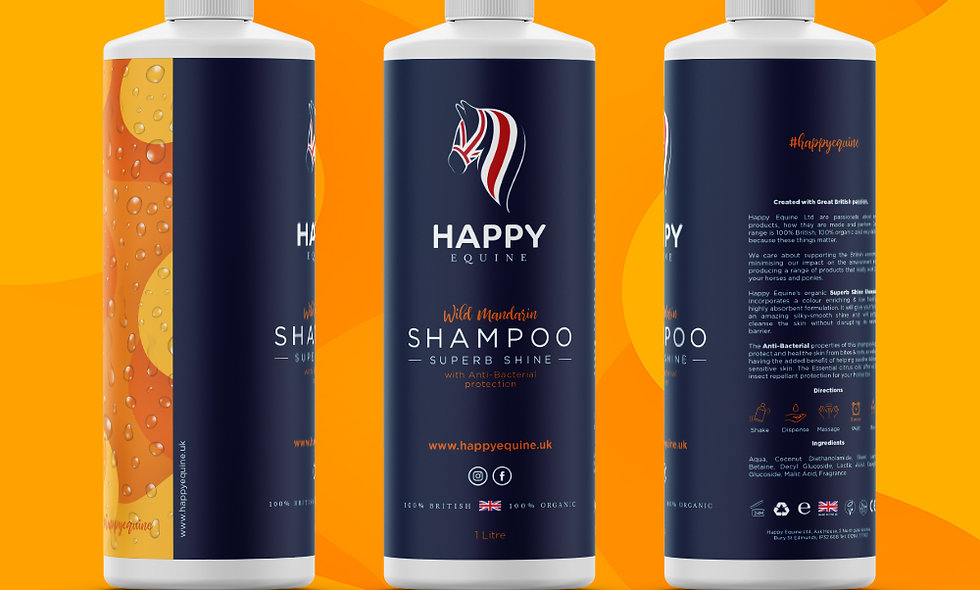 Superb Shine Shampoo - Wild Mandarin 1 Ltr
