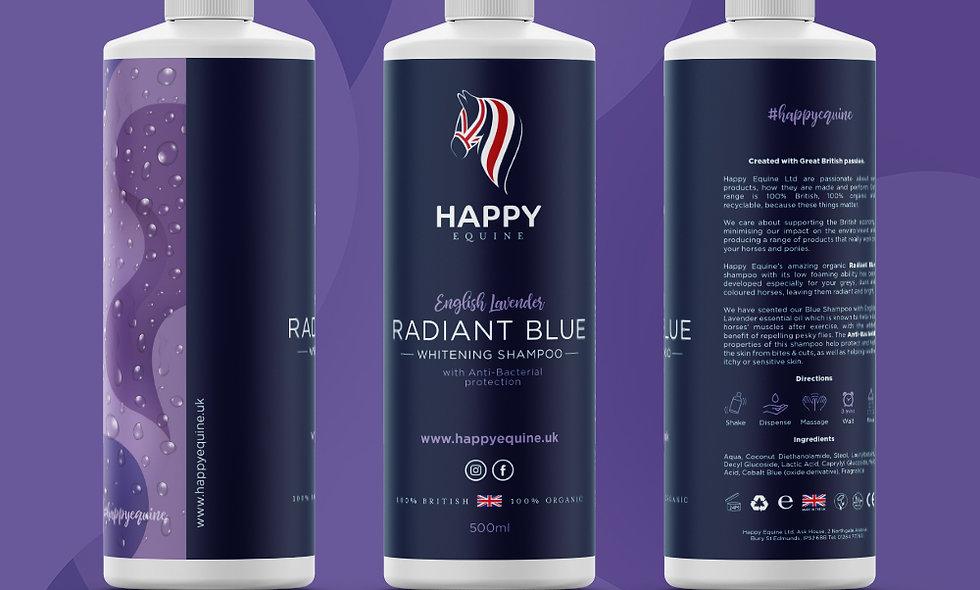 Radiant Blue Whitening Shampoo - English Lavender 1 Ltr