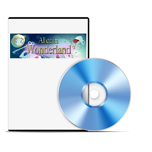Alice in Wonderland production DVD