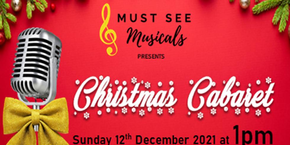 Christmas Cabaret    1pm Show