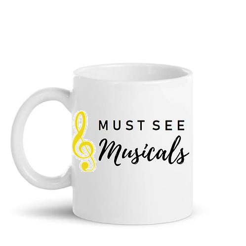 Personalised Must See Musical Mug
