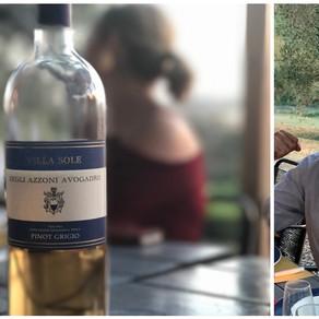 """My ancestor, Pope, drank worse wine than I! | Q&A w/ Aldobrando Azzoni, Azzoni Wines, Tuscany"
