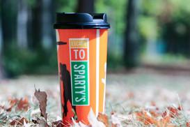 Sparty's Halloween Mug Promotional Shoot