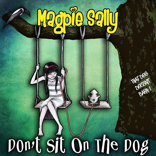 Don't sit on the dog