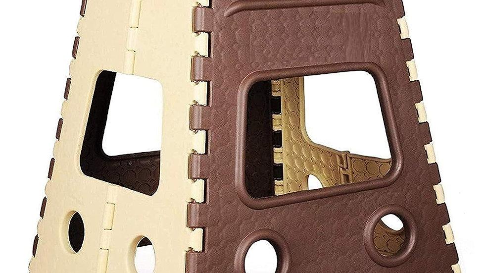 Citymegastore 18 Inch Space Saving Plastic Foldable Step  Stool