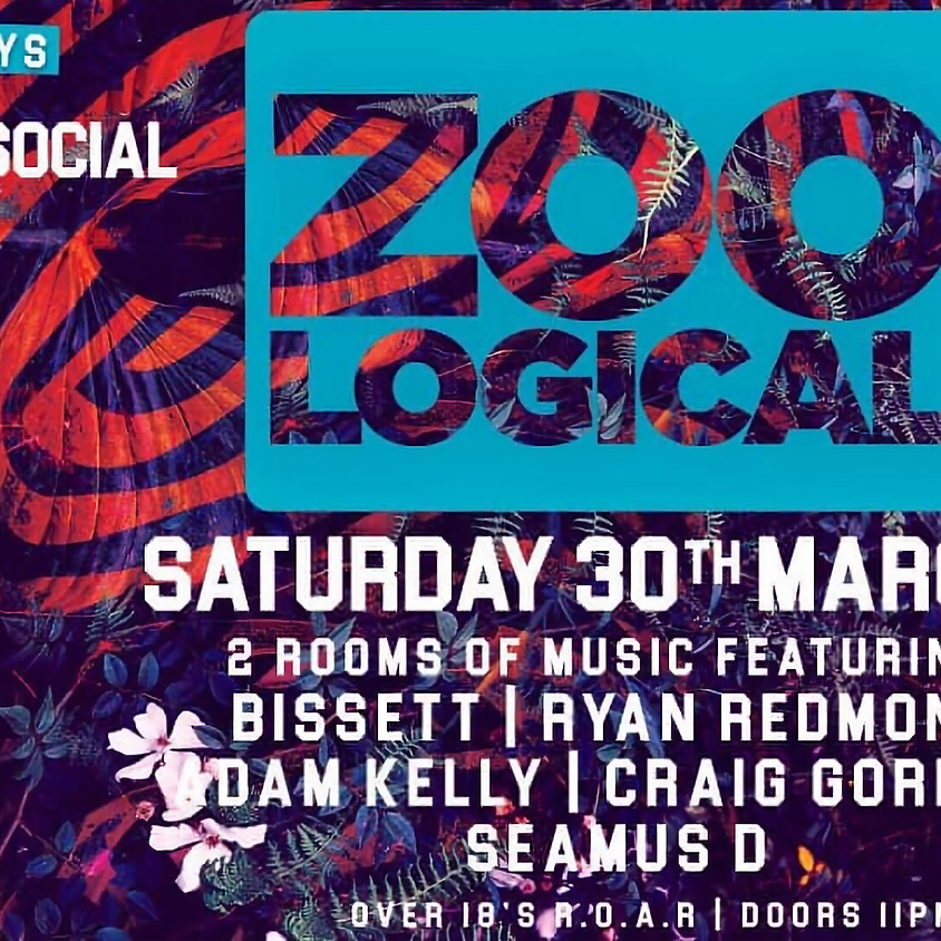 Grand social Saturdays - Zoo Logical - 30th of March