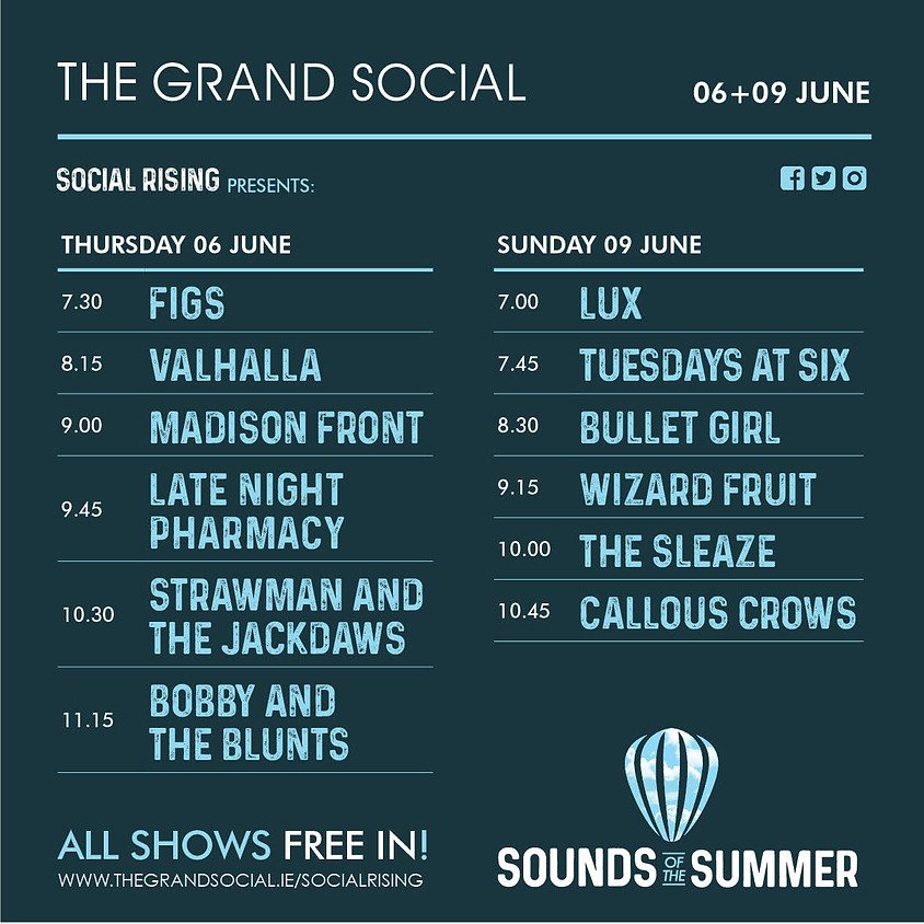 Social Rising- Sounds of summer