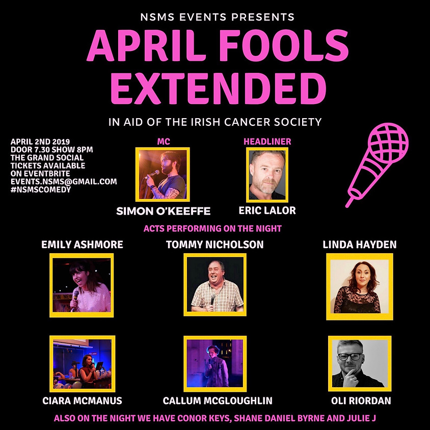 """April Fools Extended"""" Comedy Night"""