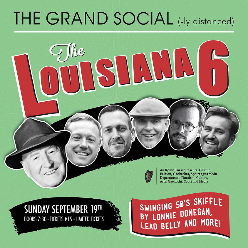 The Louisiana 6 with Slim B