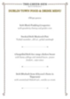 Green Hen Dublin festival menu-page0001.