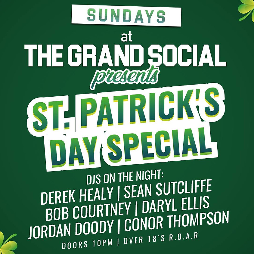 Grand Socials Saturdays presents St Patricks Day Special