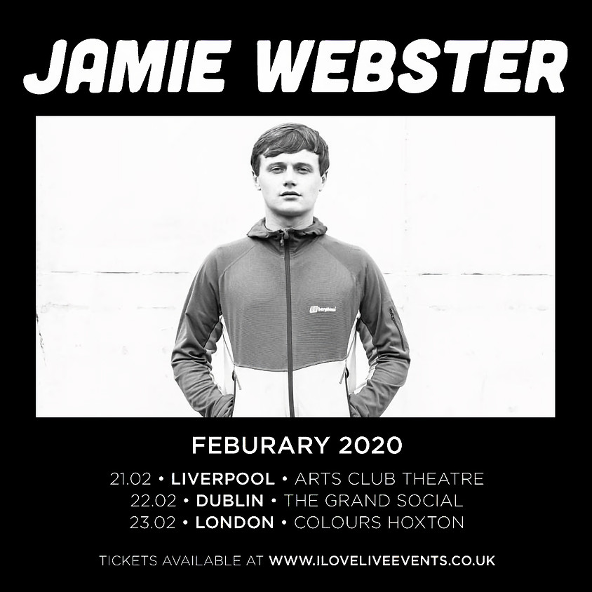 Jamie Webster- SOLD OUT