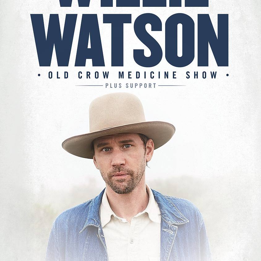 Willie Watson live in the Grand Social