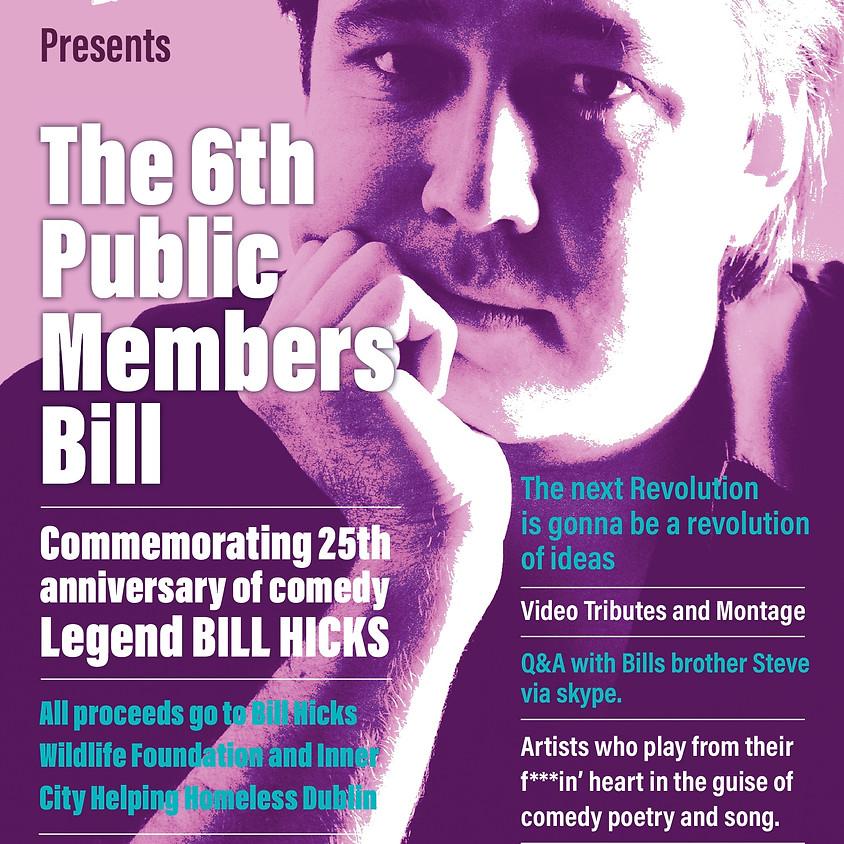 25th Anniversary of comedy Legend BILL HICKS