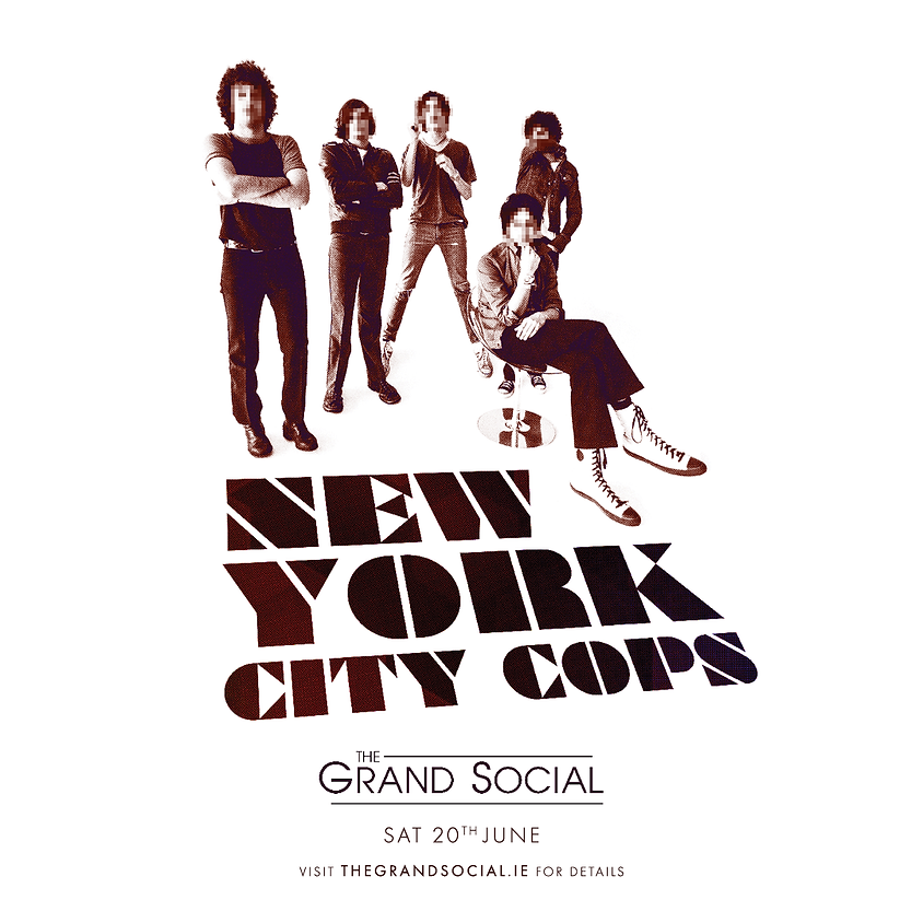 NYC COPS Tribute to the Strokes - CANCELED