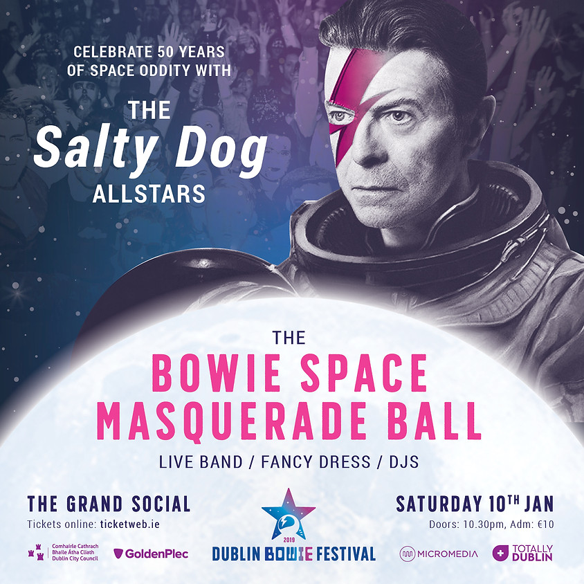 The Bowie Space Masquerade Ball Feat. The Salty Dog All Stars