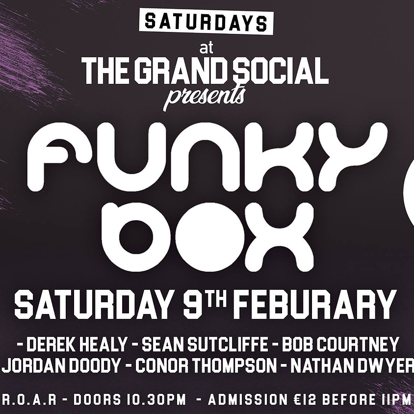 FunkyBox @The Grand Social