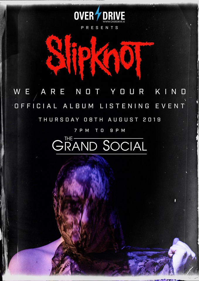 the Irish official album launch for Slipknot's new studio