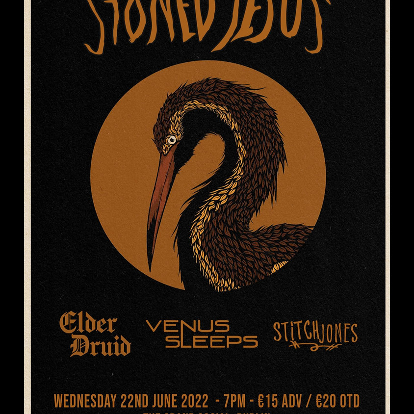 Stoned Jesus W/ Elder Druid, Venus Sleeps, Stitch Jones