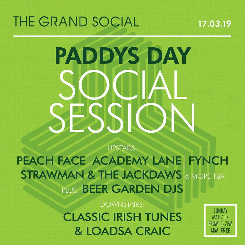 PADDYS DAY- SOCIAL SESSION