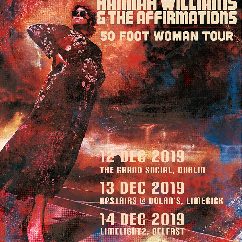 """Hannah Williams & The Affirmations- """"50 FOOT OF WOMAN TOUR"""""""