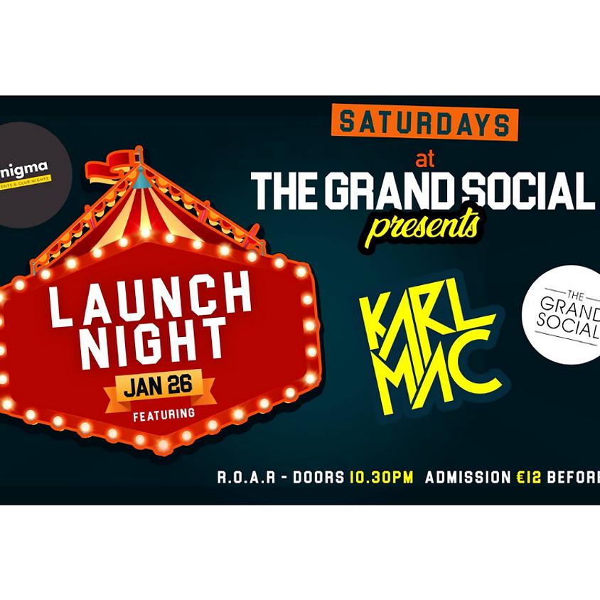 Saturday's @ The Grand Social