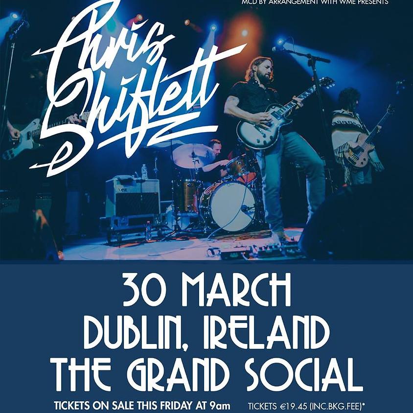 Chris Shiflett ( Foo Fighters) Dublin, The Grand Social