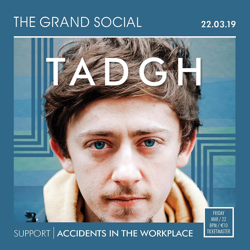 TADGH live at The Grand Social, Dublin