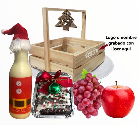 Canasta navideña 2
