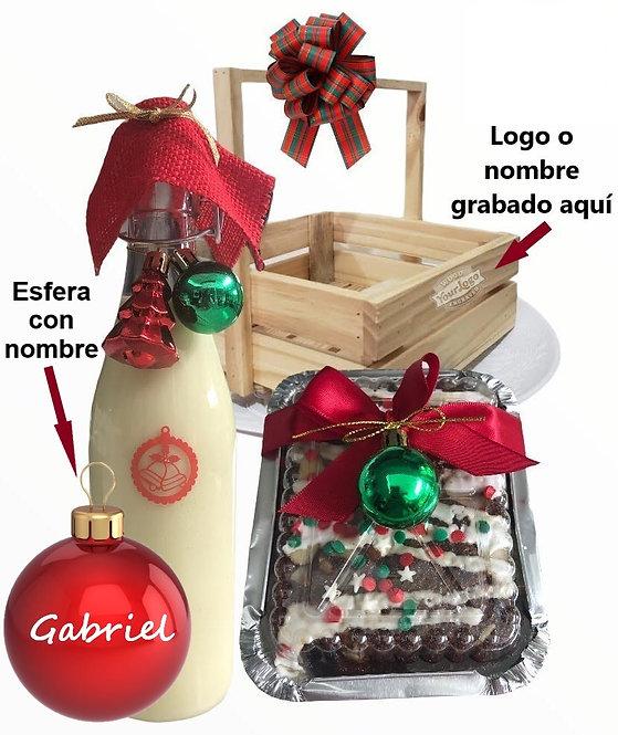 Canasta navideña 7