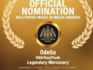 """LEGENDARY MERCENARY"" nominated for Hollywood Music in Media Awards!!"