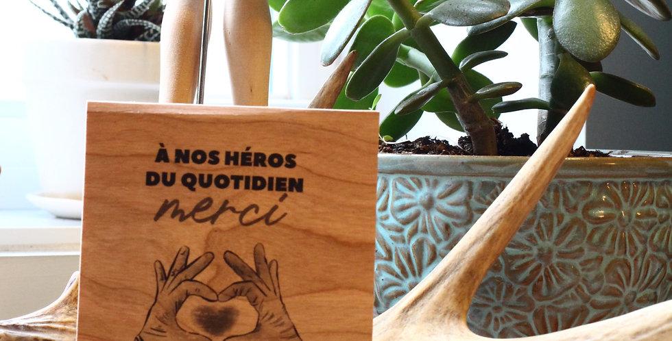 Carte Nos héros du Quotidien -#GH1