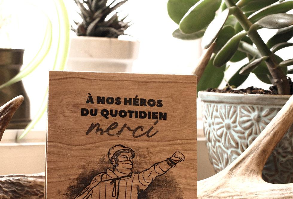 Carte Nos héros du Quotidien - #ÉH3