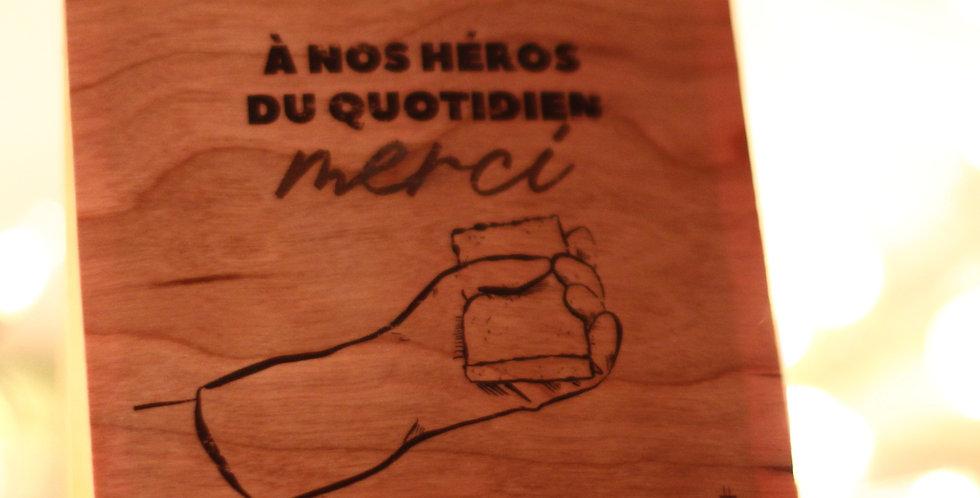 Carte Nos héros du Quotidien - #MH5