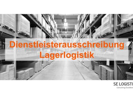 Dienstleisterausschreibung Lagerlogistik
