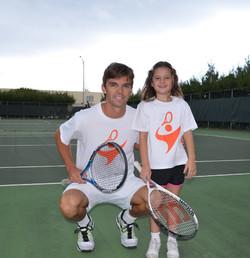 Cristian and Alma Matching T-Shirts