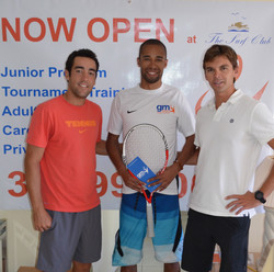 GM with former ATP terrance Nudgent