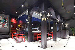 Diseño de restaurante de lujo