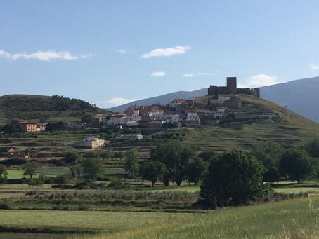 Häxor på Moncayos slippriga sluttningar i Aragonien