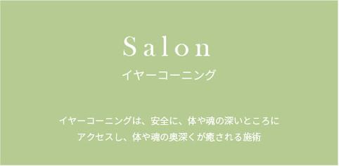 Salon イヤーコーニング