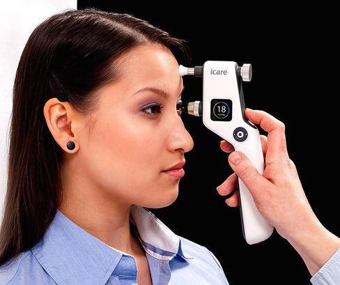 control de presión intraocular