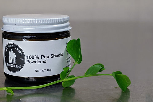 100% Powdered Pea Shoots - The Original Dehydrated Microgreens™