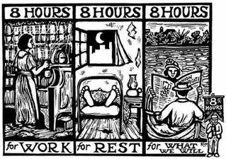 1 May is the symbol of the 8-hour working day. If you are a worker, Today's YOUR day