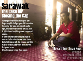 Sarawak - The Case for Closing the Gap